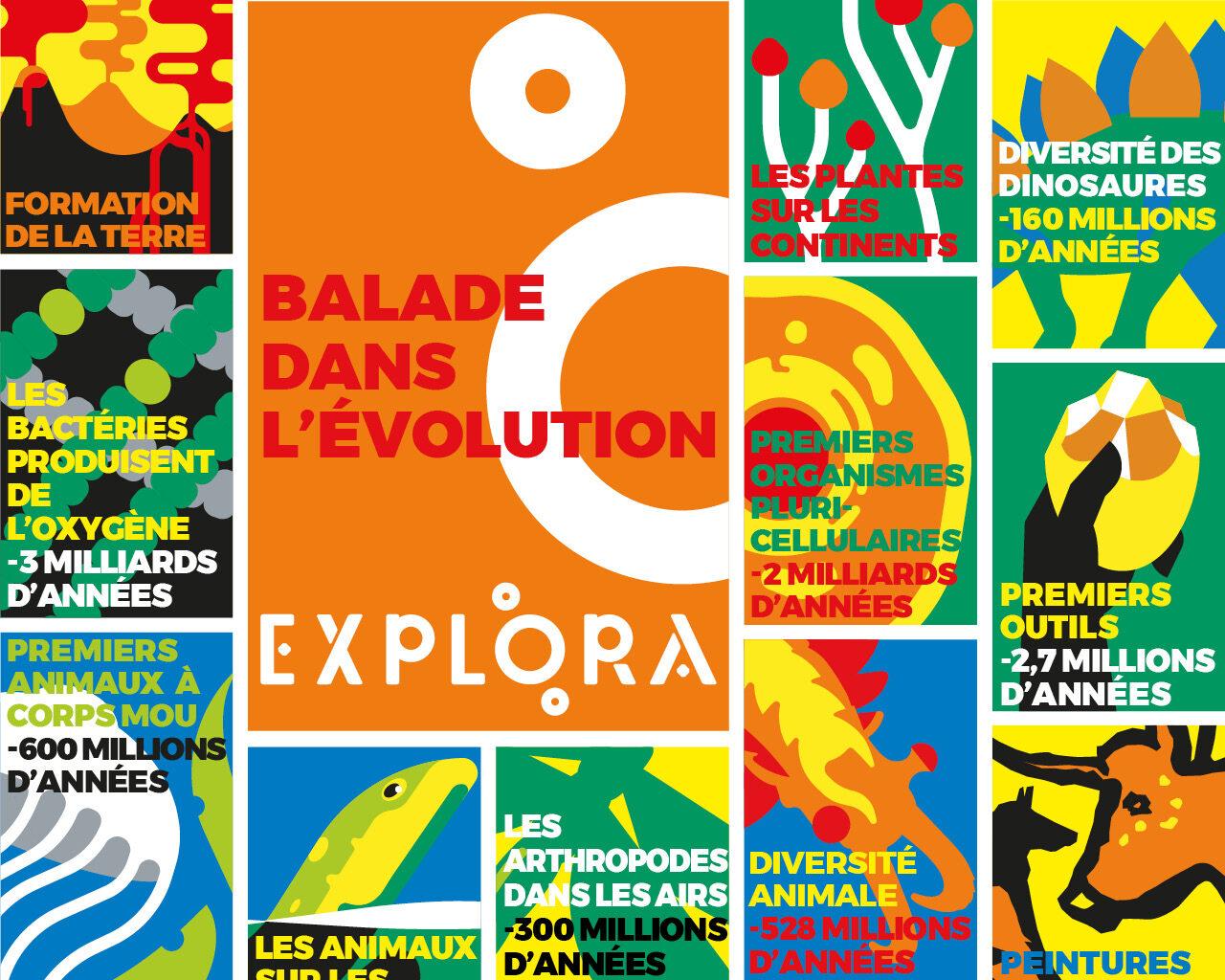 Balade dans l'Évolution - ExploraParc